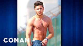 Zac Efron: Chugging Liquified Chicken Breast Will Buff You Up - CONAN on TBS