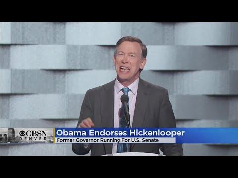 Barack Obama Officially Endorses John Hickenlooper For Senate