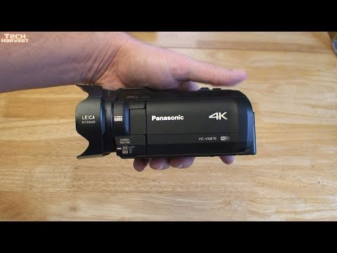 Panasonic 4K Ultra HD Flash Memory Camcorder HC-VX870: Function Overview & First Look