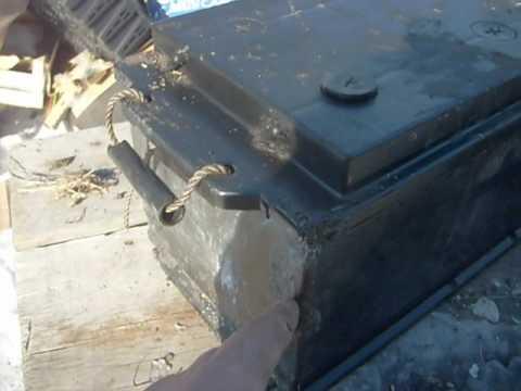 Ремонт АКБ.УДАЧНЫЙ!!!Трещина на банке.Repair of battery.GOOD!!!Crack on Bank.
