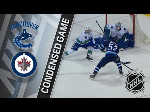 Vancouver Canucks vs Winnipeg Jets – Jan. 21, 2018 | Game Highlights | NHL 2017/18. Обзор матча
