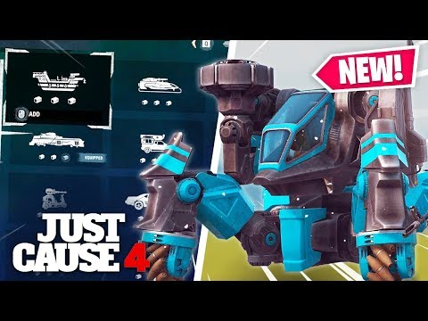 Just Cause 4 - MECHS, FLYING CARS, GIANT VEHICLES & MORE LEAKS!