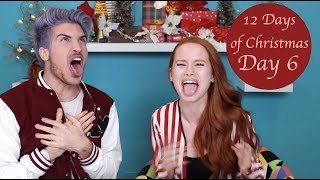INSTANT REGRET with JOEY GRACEFFA (Bean Boozled Challenge)| Madelaine Petsch