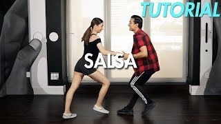How to Salsa: The Basic Salsa Step (Ballroom Dance Moves
