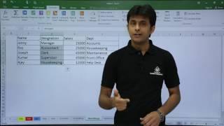MS Excel - Name Range
