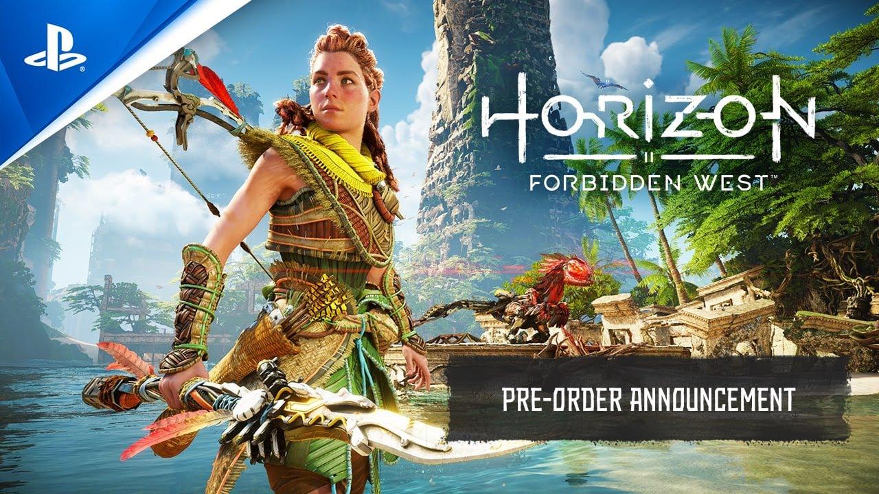 Compre já Horizon Forbidden West na pré-venda: detalhes da pré-venda da  Edição Digital Deluxe, Edição Especial, e mais