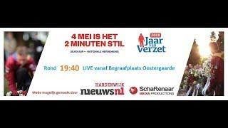 4 mei LIVE herdenking Harderwijk - Begraafplaats Oostergaarde