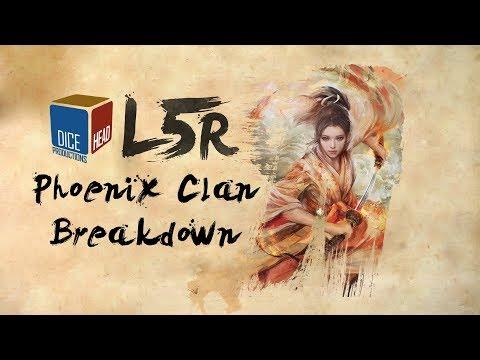 Legend of the Five Rings – Phoenix Clan Breakdown