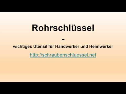 Rohrschlüssel - schraubenschluessel.net