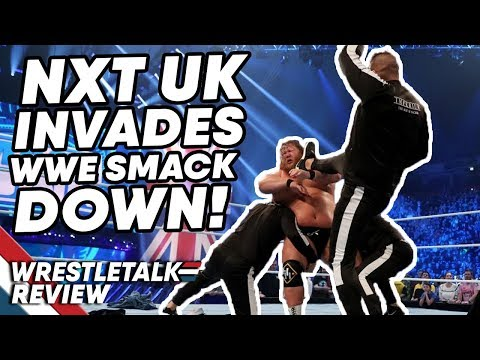 WWE SmackDown In About 4 Minutes… (Nov. 8, 2019) NXT UK INVADES! | WrestleTalk