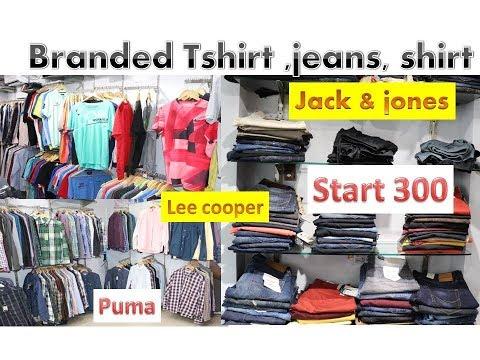 branded jeans ,tshirt,shirt start only 300//jack & jones/ puma/leecooper/reebok in delhi cheap price