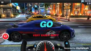 CSR Racing : Fastest Car Koenigsegg Agera R (Tire bug) - Top Speed 308 MPH !!! (1/2 mile)