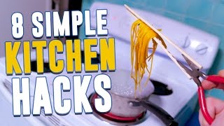 8 Incredibly Simple Kitchen Hacks