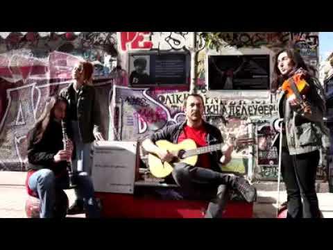 Βίντεο αλληλεγγύης στο Grup Yorum από τα Εξάρχεια