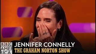 Jennifer Connelly had a #1 Hit in Japan! | The Graham Norton Show | Fridays at 11/10c on BBC America