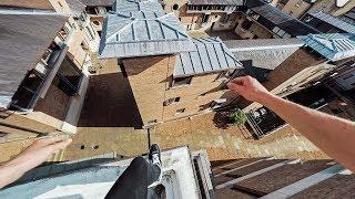Cambridge Rooftops Parkour POV