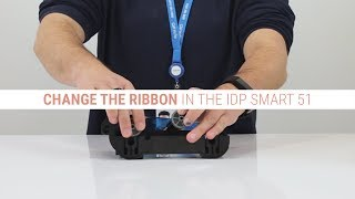 How To Change The Printer Ribbon In The IDP Smart 51 ID Card Printer