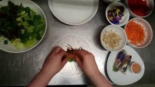 Eno Vegetarian Summer Rolls