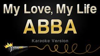 ABBA - My Love, My Life (Karaoke Version)