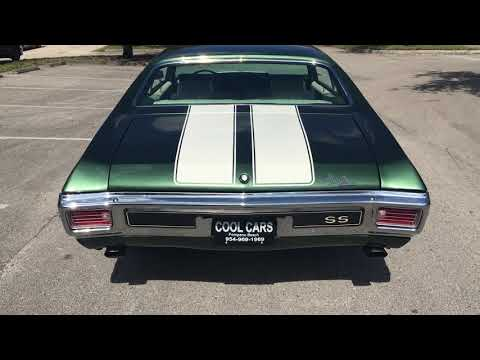 Video of Classic '70 Chevrolet Chevelle SS - $38,500.00 - PF2R