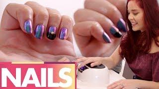 Trying SUPER GEL Fancy Nail Art!? (Beauty Trippin)