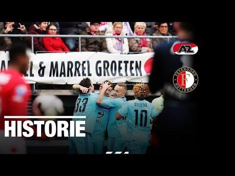 Afgelopen: AZ – Feyenoord (1-1), Jørgensen maakt rentree