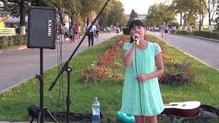 Диана Анкудинова. Там нет меня .  Набережная Самары, лето 2016 г.