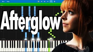 Lindsey Stirling - Afterglow | Synthesia piano tutorial
