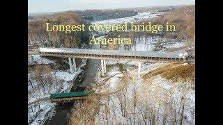 19 Covered Bridges Of Ashtabula County Ohio: Longest Covered Bridge