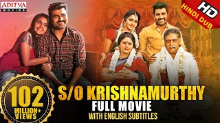S/O Krishnamurthy(Sathamanam Bhavathi)Hindi Dubbed Full Movie 2019| Sharwanand,Anupama Parameswaran - Download this Video in MP3, M4A, WEBM, MP4, 3GP