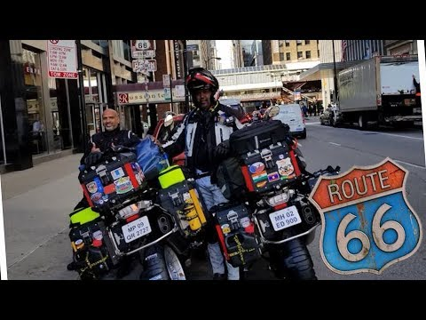 Download WORLD RIDE 2017 || EP. 96 || BEGINNING OF ROUTE 66, USA HD Mp4 3GP Video and MP3