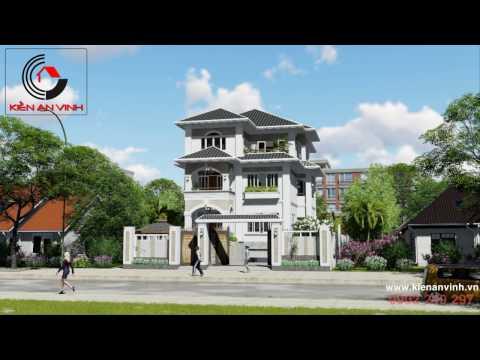 Thiết Kế Xây Dựng Biệt Thự Nhà Đẹp - Kiến An Vinh