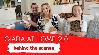 Behind The Scenes Of Giada At Home 2.0
