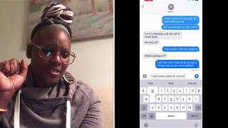 I QUIT MY JOB!!! REACTION TEXT TO WIFEY... 😜