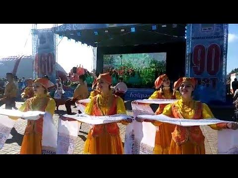 В Лаишево проходит празднование 460-летия города и 90-летия района