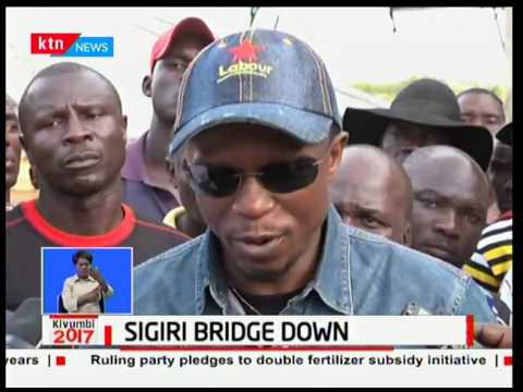 85% complete Sigiri bridge collapses