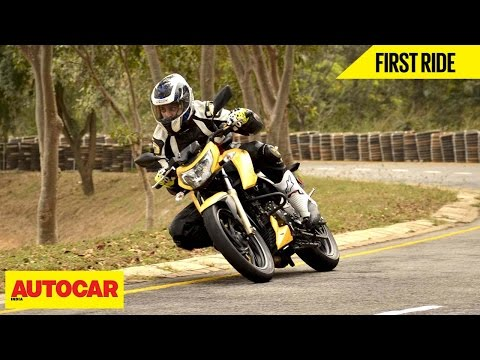 TVS Apache RTR 200 | First Ride | Autocar India