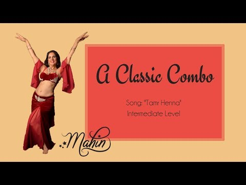 "⭐ Classic Belly Dance Combo to ""Tamr Henna"" ⭐"