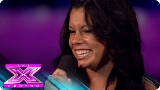 Jazzlyn Little   Audition 1   THE X FACTOR 2011