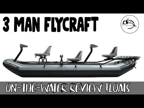 Flycraft 3 Person Boat - On Water Review - PROVO RIVER