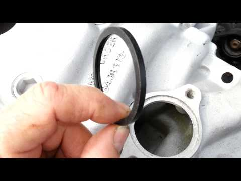 Chevy 350 5.7L correct thermostat gasket
