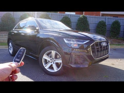 2019 Audi Q8: Start Up, Walkaround, Test Drive And Review