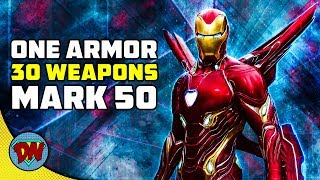 Iron Man Infinity War Armor - Features and Weapons | Explained in Hindi
