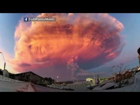 Amazing timelapse of volcanic sunset in Zimbabwe