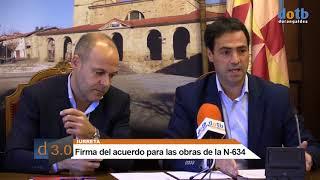 dotb Firma convenio #Iurreta #Diputación N-634 23-07-2018