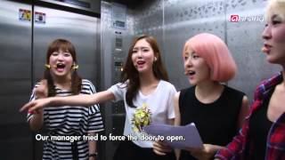 F-ve Dolls Cut (Behind The Scene of Simply Kpop)