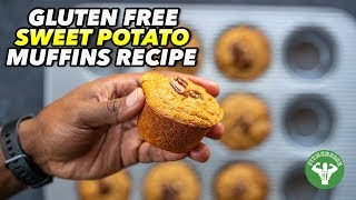 Healthy Gluten Free Sweet Potato Muffins