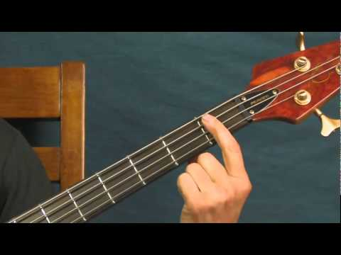 easy bass guitar lesson and she was talking heads