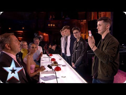 4MG have a trick up their sleeve for the Judges | Auditions | BGT 2019