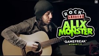 Ghost Town: How To Play 'Game Freak' (ACOUSTIC)
